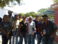 Members of Margarita Island's Ezequiel Zamora Bolivarian Civic-Military Front